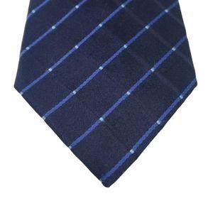 Hugo Boss Blue Diagonal Stripe Tie